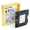 RICOH Cartouche gel multifonctions jaune GC41YL - 405768