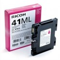 RICOH Cartouche gel multifonctions magenta GC41ML - 405767
