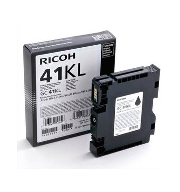 RICOH Cartouche gel multifonctions noire 405761 - GC41K