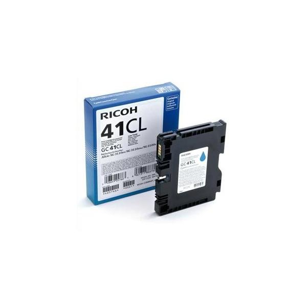RICOH Cartouche gel multifonctions noire GC41YL - 405765