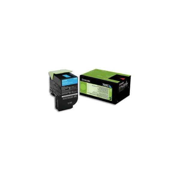 LEXMARK Cartouche toner laser cyan 70C20C0