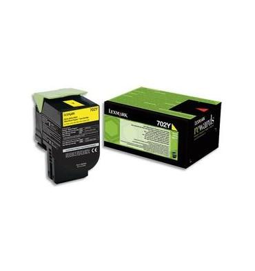 LEXMARK Cartouche toner laser jaune 70C20YO