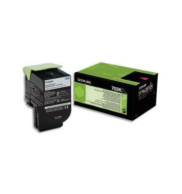 LEXMARK Cartouche toner laser noir 70C20K0