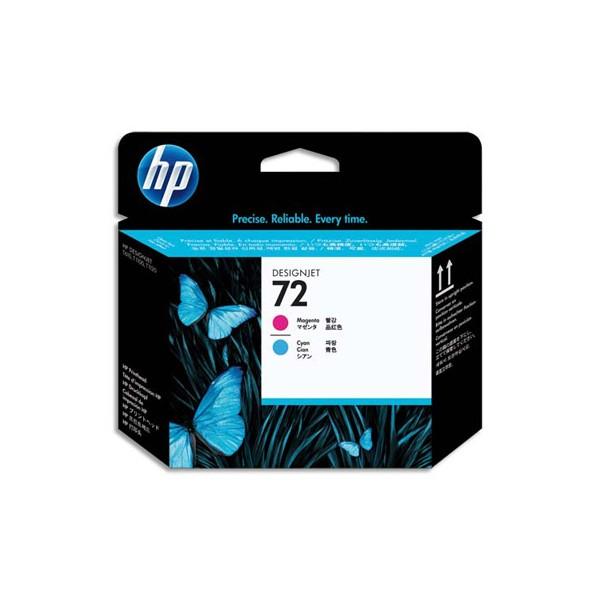 HP Tête d'impression cyan et magenta n°72 C9383A