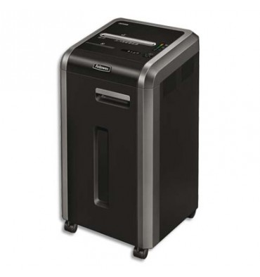 FELLOWES Destructeur 225MI 16 feuilles microshred