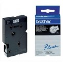 BROTHER Cassette Ruban TC Noir / Transparent 12 mm x 7,7 m - TC101