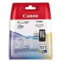 CANON Cartouches jet d'encre couleur cyan, magenta, jaune CL511