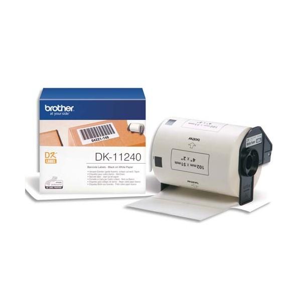 BROTHER Rouleau de 200 étiquettes code barre 102 x 51 mm - DK11240