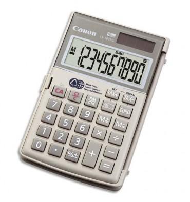 CANON Calculatrice de poche à 10 chiffres LS10TEG, gris
