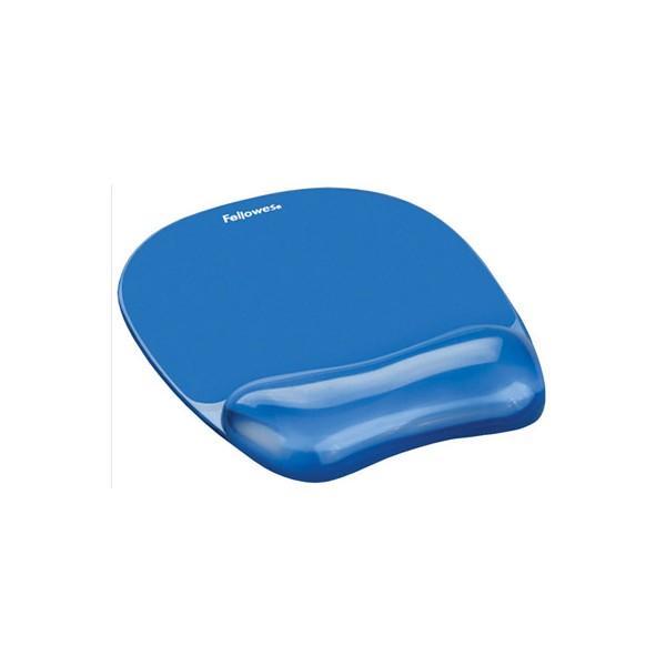 FELLOWES Tapis de souris repose poignets Bleu