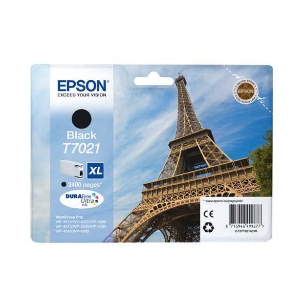 EPSON Cartouche jet d'encre noir XL T7021