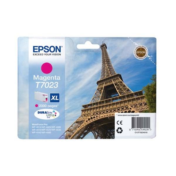 EPSON Cartouche jet d'encre magenta XL T7023