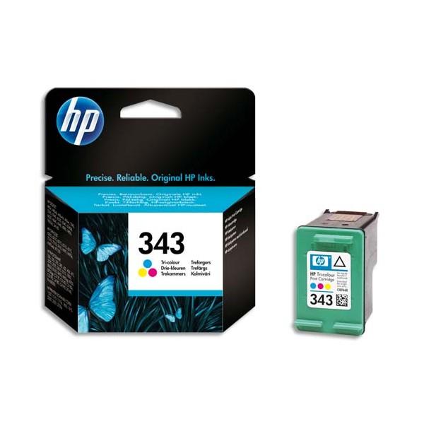HP Cartouche jet d'encre tricolore N°343