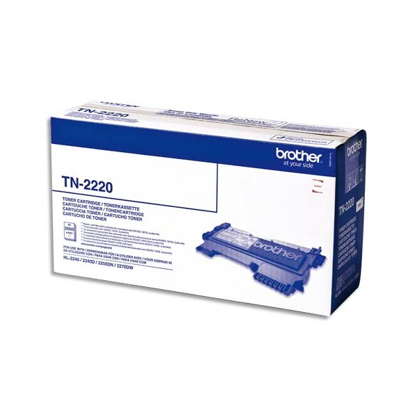 BROTHER Cartouche toner laser noir TN-2220