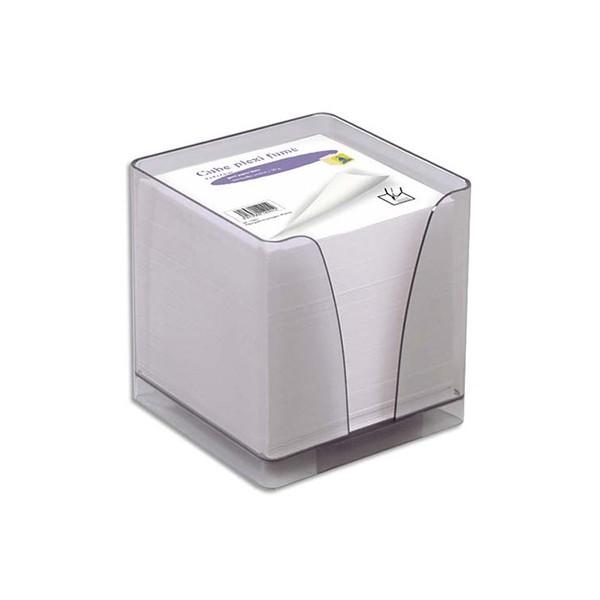 QUO VADIS Recharge bloc cube blanc 9 x 9 x 7,5 cm 590 feuilles mobiles 80g PEFC