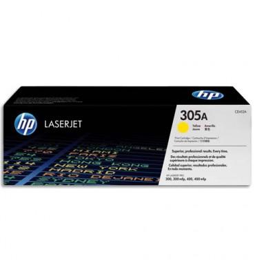 HP Cartouche toner laser jaune 305A - CE412A