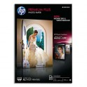 HP Boîte de 25 feuilles papier photo Premium Plus 10 x 15 cm, finition brillante 300g