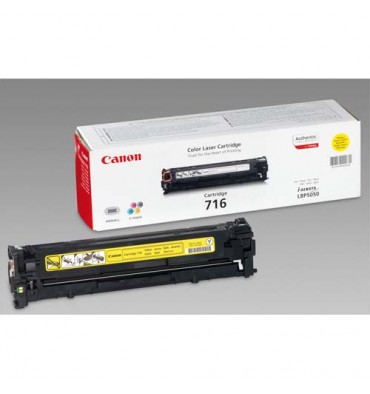CANON Cartouche toner laser jaune 716