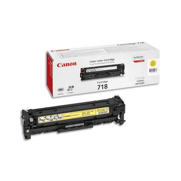 CANON Cartouche toner laser jaune CRG718