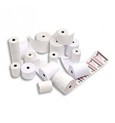 EXACOMPTA Bobines caisses enregistreuses papier thermiques sans bisphénol A 55g - 80 x 80 x 12 mm, 78 m
