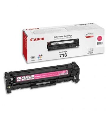 CANON Cartouche toner laser Magenta CRG718