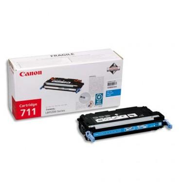 CANON Cartouche toner laser cyan 711