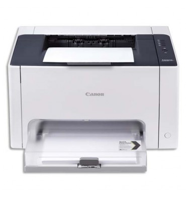 CANON Imprimante Laser Couleur I-Sensys LBP7010C 4896B003AA - A4 : 4 / 16 ppm - USB 2.0 - Design Blanc