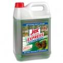 JEX Professionnel Bidon de 5 litres désinfectant triple action multi-surfaces Forêt des Landes