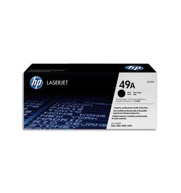HP Cartouche toner laser noir 49A - Q5949A
