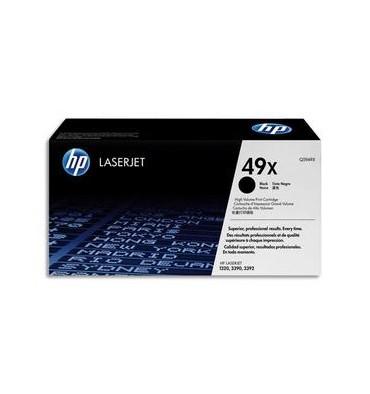 HP Cartouche toner laser noir 49X - Q5949X