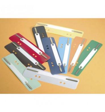 DURABLE Sachet de 25 attaches perforées dans un format A4, coloris assortis