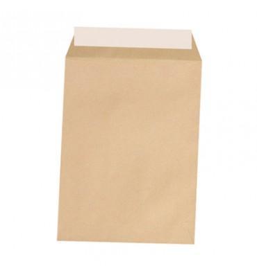 5 ETOILES Boîte de 250 pochettes kraft auto-adhésives 90g format 229 x 324 mm C4