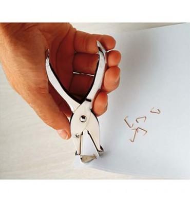 5 ETOILES Arrache-agrafes pince métallique