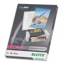LEITZ Pack de 100 pochettes A4 125 microns UDT 74810000