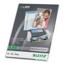 LEITZ Pack de 100 pochettes A3 80 microns UDT 74850000