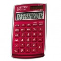 CITIZEN Calculatrice de poche CPC112RD Rouge