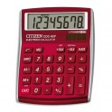 CITIZEN Calculatrice de bureau ALLROUNDER, CDC80RD, coloris rouge