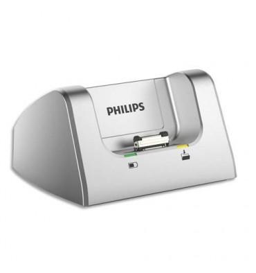 PHILIPS Station d'accueil ACC8120/00 pour enregistreurs numériques DPM6000 et DPM7200
