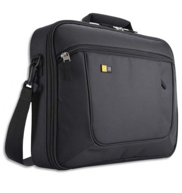 CASE LOGIC Sacoche en nylon pour PC de 14 à 16'' + compartiment tablette - noir
