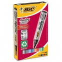 BIC Pochette de 4 marqueurs permanents pointe ogive encre à base d'alcool 4 couleurs assorties 2000