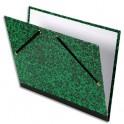 EXACOMPTA Carton à dessin fermeture par élastiques 52 x 72 cm pour feuilles 50 x 65 cm Vert