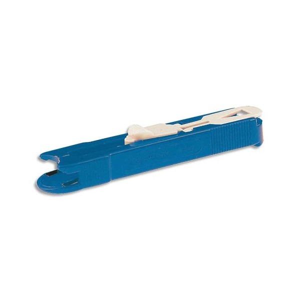 WONDAY Pince plastique distributrice de clips, pour relier jusqu'à 60 feuilles