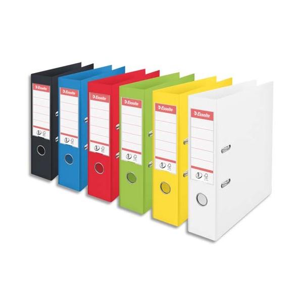 ESSELTE Classeurs à levier Power format A4, dos de 75 mm, coloris assortis