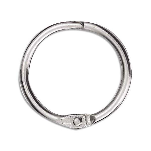 NEUTRE Sachet de 10 anneaux brisés en métal, diamètre 30 mm