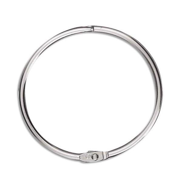 NEUTRE Sachet de 5 anneaux brisés en métal, diamètre 64 mm