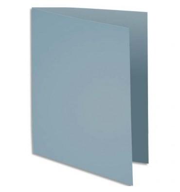 EXACOMPTA Paquet de 100 chemises Rock's en carte 210 g, coloris gris