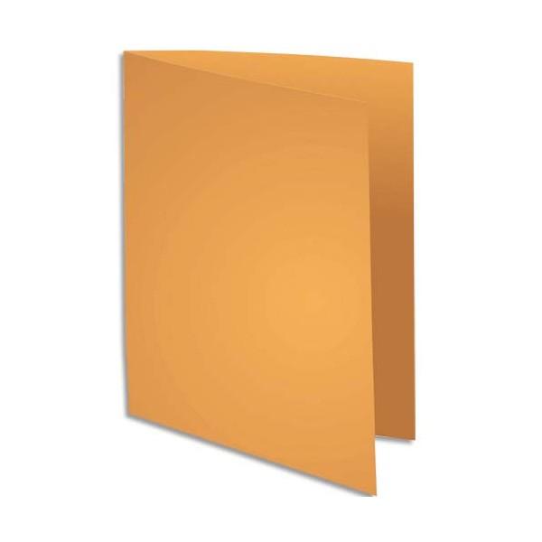 EXACOMPTA Paquet de 100 chemises Rock's en carte 210 g, coloris ocre