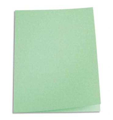 5 ETOILES Paquet de 100 chemises carte recyclée 180g coloris vert
