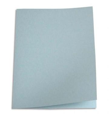 5 ETOILES Paquet de 100 chemises carte recyclée 180g coloris gris