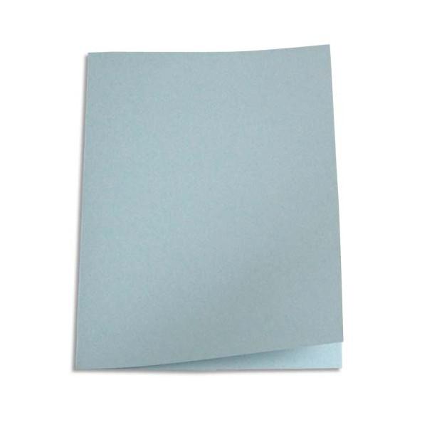 5 ETOILES Paquet de 100 chemises carte recyclée 180g coloris gris (photo)